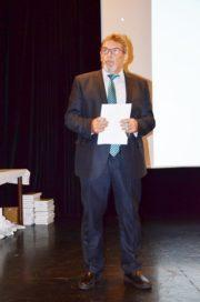 PaedDr. Jindřich Marek přednáší svůj příspěvek na XV. Konferenci policejních historiků (Foto Muzeum Policie České republiky)