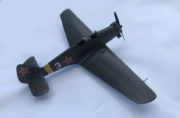 Model cvičného letounu Jak-UT 2, 1:25, František Boháček, 1953.