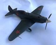 Model stíhacího letounu Mig-3, 1:25, Jiří Pála, 1972.