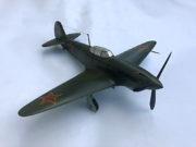 Model stíhacího letounu Jak-3, 1:25, František Boháček, 1953.