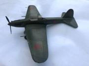 Model bitevního letounu Il-2, 1:25, František Boháček, 1953.