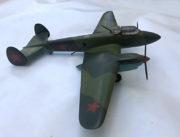 Model bombardovacího letounu Pe-2, 1:25, František Boháček, 1954.