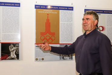Výstava Olympijské století v pražské Písecké bráně vznikla za spolupráce VHÚ