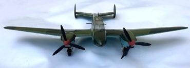 Modely sovětských válečných letadel ze sbírky VHÚ, vytvořené v 50. až 70. letech