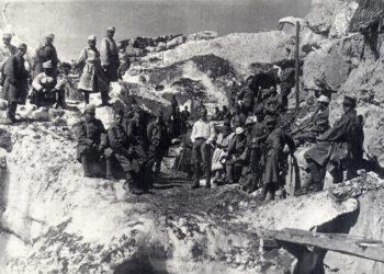 Rakousko-uherští vojáci vAlpách za první světové války