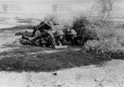 Bojový výcvik v Judské poušti v lednu 1941 (MO ČR)