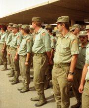 Válka v Zálivu; Československý samostatný protichemický prapor byl průkopníkem, na straně spojenců pomáhal osvobodit Kuvajt obsazený Irákem.