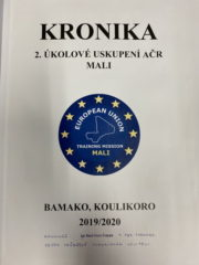 Kronika jednotky 2.ÚU AČR MALI. Foto sbírka VHÚ.