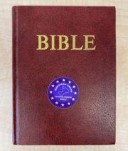Bible, kterou používal při bohoslužbách v zahraniční operaci kaplan a vojenský historik jednotky kpt. Marek Maxim Švancara. Foto sbírka VHÚ.