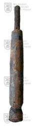 Německý cvičný náboj pro výcvik obsluh protiletadlového kanonu 10,5 cm Flak 38/39