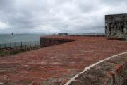 Postavení pobřežní baterie pevnostního dělostřelectva v Southsea Castle. FOTO: Jiří Plachý