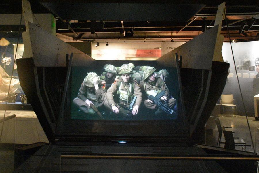 Muzeum invaze do Normandie v Portsmouthu