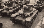 Koncepce pružné strategické obrany ČSR počítala s nasazením tankové techniky. Páteřním strojem útočné vozby byly lehké tanky vz. 35. FOTO: archiv Karel Straka