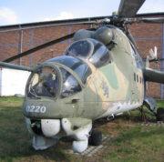 Bitevní vrtulník Mil Mi-24D. Foto: Petr Moudrý