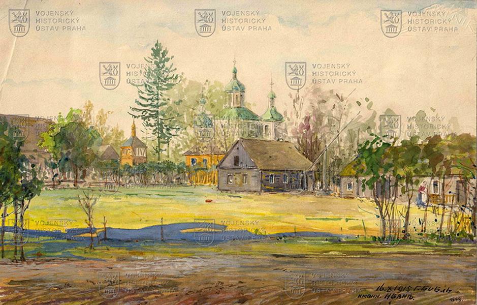 Jindřich Biebl, Ivaň, 1915