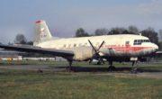 Avia Av-14 v Leteckém muzeu Kbely před renovací