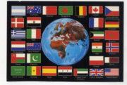 Dobová pohlednice za osvobození Kuvajtu