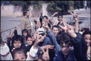 Radost Kuvajťanů po osvobození, rok 1991