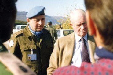"""""""Rozhodnutí jít do mise jsem si nikdy nezpochybnil,"""" říká generál Karel Blahna"""