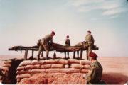 Stanoviště zabezpečující ochranu základního tábora