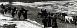 Obsazení Ukrajiny a ústup československých legií do Ruska v únoru 1918