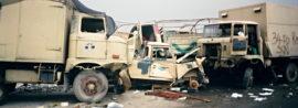 Za 100 hodin vítězství. Pozemní tažení proti Iráku, vyvrcholení a konec války v Zálivu.