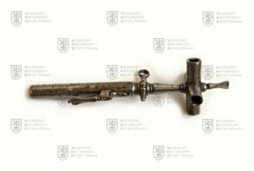 Klíč ke kolečkovému zámku, 17. století