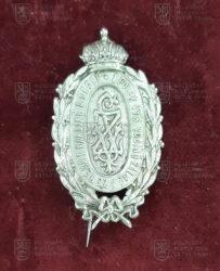 Odznak Spolek vysloužilých vojínů zálohy a zeměbrany v Karlíně a okolí
