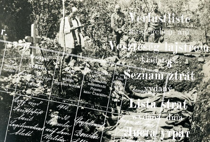 Válečné ztráty rakousko-uherské armády 1914–1918 – online zdroje