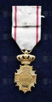 Rumunský kříž Za zdravotní zásluhy (revers). FOTO VHÚ.
