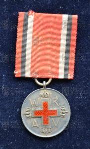 Německá Medaile Červeného kříže, 2. stupeň (avers). FOTO VHÚ.