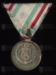 Bulharská Medaile Červeného kříže, 1. stupeň (revers). FOTO VHÚ.