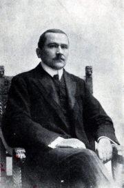 Hlavní představitel Polského národního výboru Roman Dmowski.