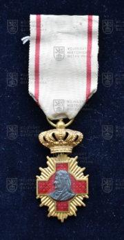 Rumunský kříž Za zdravotní zásluhy (avers). FOTO VHÚ.