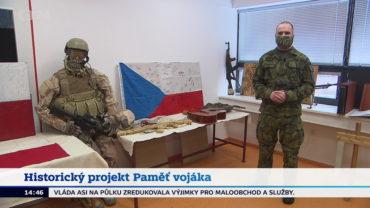 Projekt VHÚ Paměť vojáka a artefakty zmisí vpořadu České televize