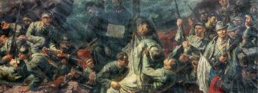 Válečná legionářská trilogie Jana Čumpelíka, malíře spojeného srůznými československými režimy