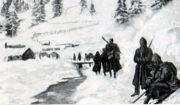 Po porážce Srbska během podzimu 1915 musela špatně vybavená a vyhladovělá srbská armáda absolvovat strastiplný ústup zimní Albánií, během něhož zahynuly desetitisíce vojáků a válečných zajatců.