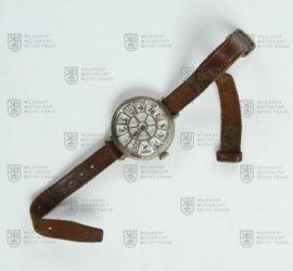 Náramkové hodinky s ochrannou mřížkou