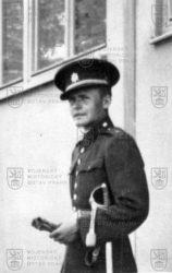 Odbojář Karel Odehnal během služby u Ženijního pluku 2
