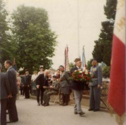 Fotografie zpietního aktu vroce 1978 v Darney