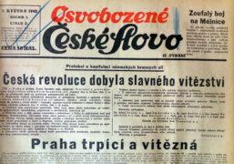 Květnové povstání 1945: každý bojovník měl svou cenu…