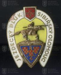 Čestný odznak jezdeckého pluku 2 Olomouc