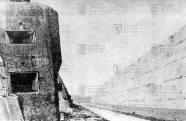 Pěchotní srub belgické tvrze Eben Emael v roce 1940