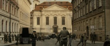 18. červen 1942 / Obklíčení kostela s parašutisty z filmu Anthropoid