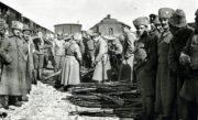 Odzbrojování čs. jednotek v Penze v březnu 1918.