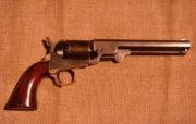Revolver Manhattan Navy (1860), v letech 1860−1868 bylo vyrobeno celkem 78 000 těchto námořních revolverů, umístěných výlučně na civilním trhu.