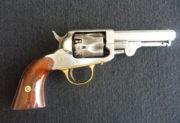 Revolver Union Arms (Marston) Pocket, kolem 1860; jednočinný perkusní revolver s uzavřeným rámem.