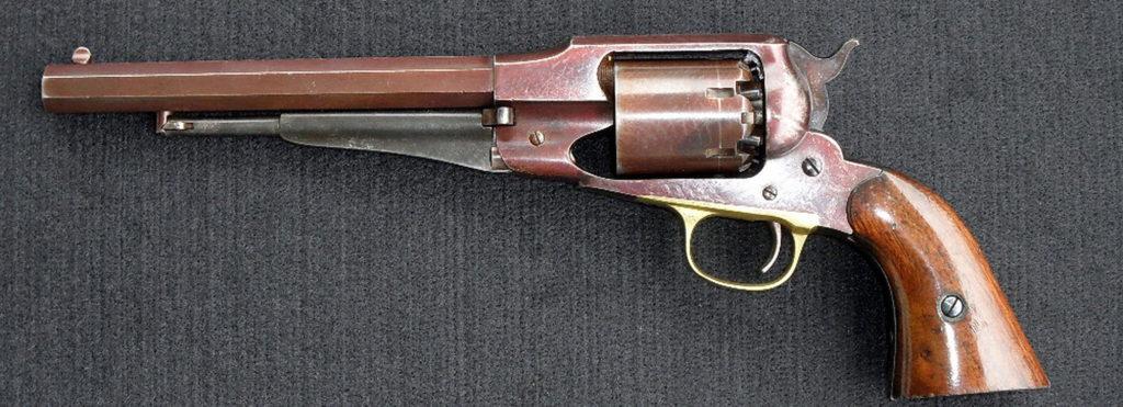 Perkusní zbraně na Americkém západě ve sbírkách VHÚ, tentokrát pistole a revolvery