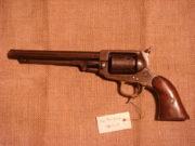 Revolver Whitney Navy, kolem 1860; na přelomu 50. a 60. let 19. století byl vyroben v počtu kolem 33 000 kusů.