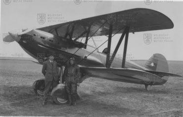 Druhý prototyp Avie B-534 zroku 1933